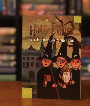 Harry Potter French 2nd Edition Philosopher's Stone Ecole des Sorciers Book 1