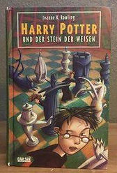 Harry Potter German 1st Edition 1st Print Premovie Philosopher's Stone Der Stein Der Weisen Book 1