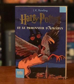 Harry Potter French 2nd Edition Prisoner of Azkaban Book 3
