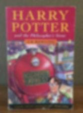 Harry Potter 1st Print Philosopher's Stone Bloomsbury