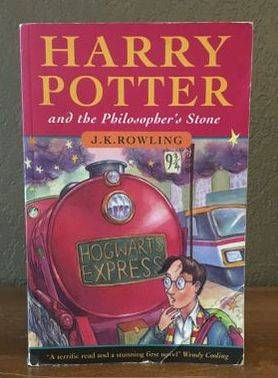 Harry Potter 1st Print Philosopher's Stone Bloomsbury