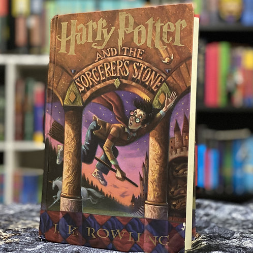 Junior Library Guild Harry Potter and the Sorcerer's Stone