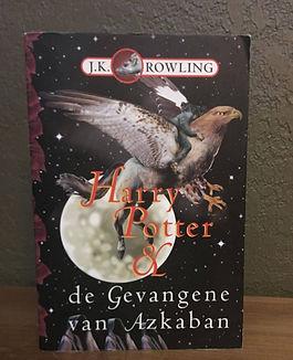Harry Potter Dutch 1st Edition PreMovie Prisoner of Azkaban Book 3