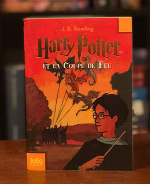 Harry Potter French 2nd Edition Coupe de Feu Goblet of Fire Book 4