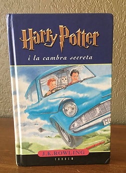 Harry Potter Book 2 in Valencian i la cambra secreta