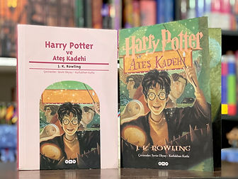 Turkish translation of Harry Potter and the Goblet of Fire,  Harry Potter ve Ateş Kadehi