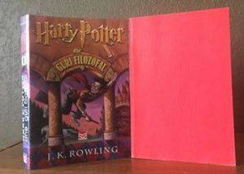 1st Edition, 1st State Albanian Translation of Harry Potter and the Philosopher's Stone