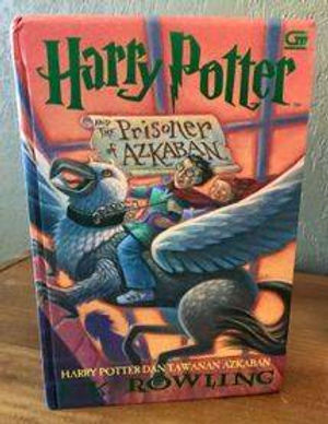 Harry Potter Indonesian 1st Edition Prisoner of Azkaban Hardcover, Harry Potter dan Tawanan Azkaban