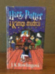 Harry Potter Czech 1st Edition 2nd State Philosophers Stone Book 1