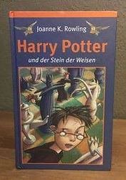 Harry Potter German Book Club Edition Philosopher's Stone Stein der Weisen Book 1