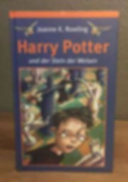 Harry Potter German Book Club Edition Philosopher's Stone Stein der Weisen Book 1