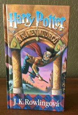 Harry Potter Czech 3rd Edition Philosopher's Stone Book 1