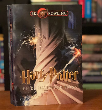 Harry Potter 1st Edition Dutch Half Blood Prince Book 6