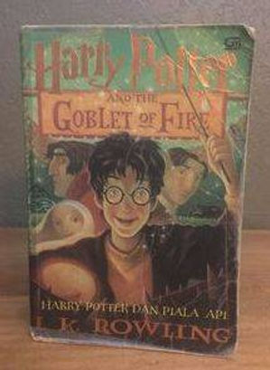 Harry Potter Indonesian Softcover 1st Edition Goblet of Fire, Harry Potter dan Piala Api