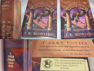 Junior Library Guild Harry Potter and the Sorcerer's Stone BCE: the ONE exception to (almost) valuel