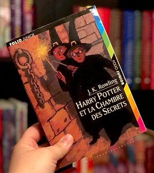 Harry Potter Cover French 2nd Print Premovie Chamber of Secrets La Chambre des Secrets Book 2