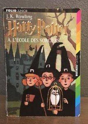 Harry Potter French Later Print Philosopher's Stone Ecole des Sorciers Book 1