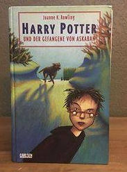 Harry Potter German 1st Edition Premovie Early Print Prisoner of Azkaban Book 3; Harry Potter und der Gefangene von Askaban