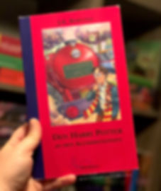 Hear Harry Potter and the Philosopher's Stone read in Luxembourgish