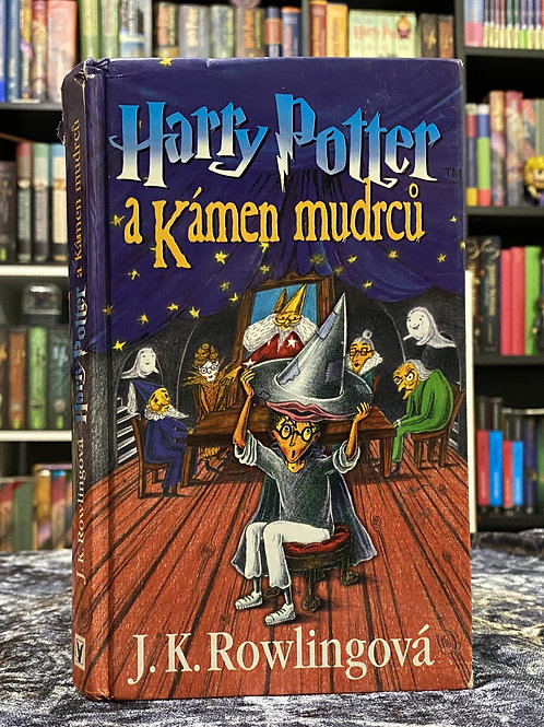 2nd Edition (A.K.A. Wizard Hat) Czech, Harry Potter & the Philosopher's Stone