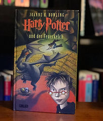 Harry Potter German Goblet of Fire Book 4; Harry Potter und der Feuerkelch