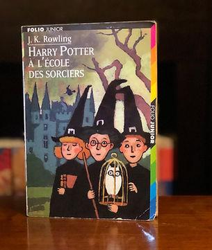 Harry Potter French 2nd Print 1st Edition Premovie Philosopher's Stone Ecole des Sorciers Book 1