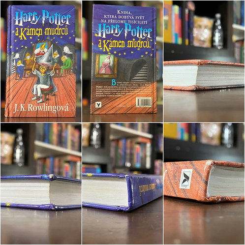 2nd Ed. Czech Translation (Wizard Hat) Harry Potter & the Philosopher's Stone