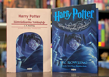 Turkish Harry Potter translation of Harry Potter and the Order of the Phoenix, Harry Potter ve Zümrüdüanka Yoldaşlıği
