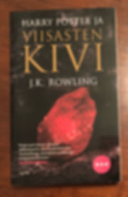 Harry Potter Finnish Adult Edition Softcover Philosopher's Stone Book1