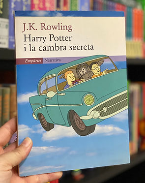 1st Edition Catalan Translation Harry Potter and the Chamber of Secrets I la Cambra Secreta