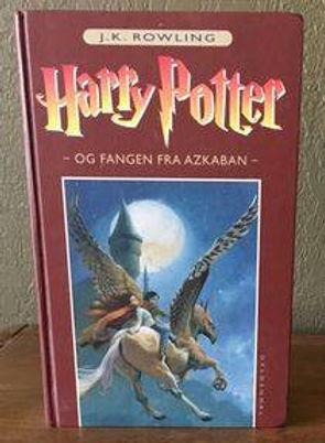 Harry Potter Danish 1st Edition Prisoner of Azkaban Book 3