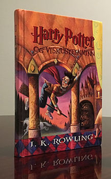 Harry Potter Icelandic Philosoher's Stone Book 1 Illustrated by Mary GrandPre 2nd Edition