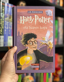 Basque translation of Harry Potter and the Goblet of Fire