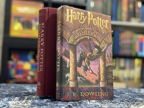 4th Print, 1st Edition Harry Potter and the Sorcerer's Stone