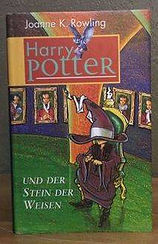 Harry Potter German Wizard Hat Edition Der Club Book Club Edition Hardcover Philosopher's Stone der Stein der Weisen