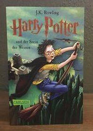 2015 Special Edition Harry Potter German Philosopher's Stone Stein der Weisen Book 1