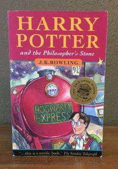 Harry Potter Later Print Philosopher's Stone