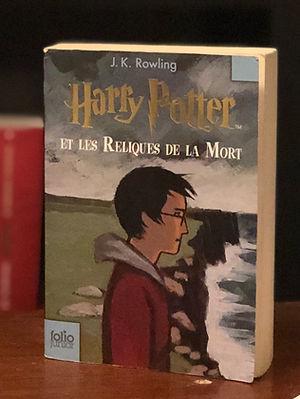 Harry Potter French 1st Edition Deathly Hallows Les Reliques de la Mort Book 7