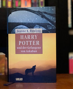 Harry Potter German Adult Edition Prisoner of Azkaban Book 3; Harry Potter und der Gefangene von Askaban