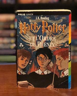 Harry Potter French Order of th Phoenix l'Ordre du Phenix Book 5