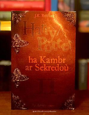 Harry Potter Breton Chamber of Secrets Book 2