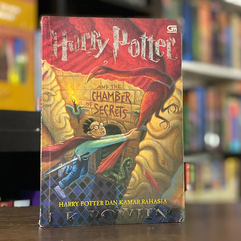 1st Edition Indonesian Translation, Harry Potter& the Chamber of Secrets