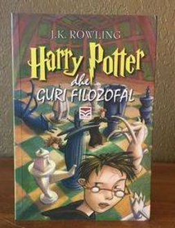 2nd State, 1st Edition Albanian Translation of Harry Potter and the Philosopher's Stone