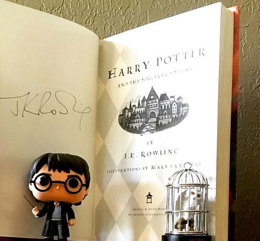 Authentic J.K. Rowling Signature, 1998