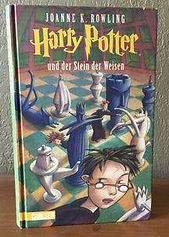 Harry Potter German 1st Edition Later Print Philosopher's Stone Der Stein der Weisen Book 1; Harry Potter und der Stein der Weisen