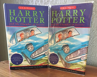 Harry Potter 1st Print Chamber of Secrets Book 2