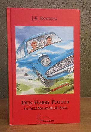 Harry Potter Book 2 in Luxembourgish