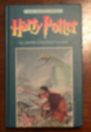 Harry Potter Danish 1st Edition Chamber of Secrets Book 2
