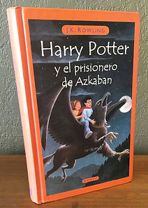 Harry Potter in Spansh, Book 3 Later Print