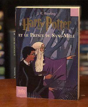 Harry Potter French 2nd Edition Half Blood Prince Le Prince de Sang-Mèlé Book 6
